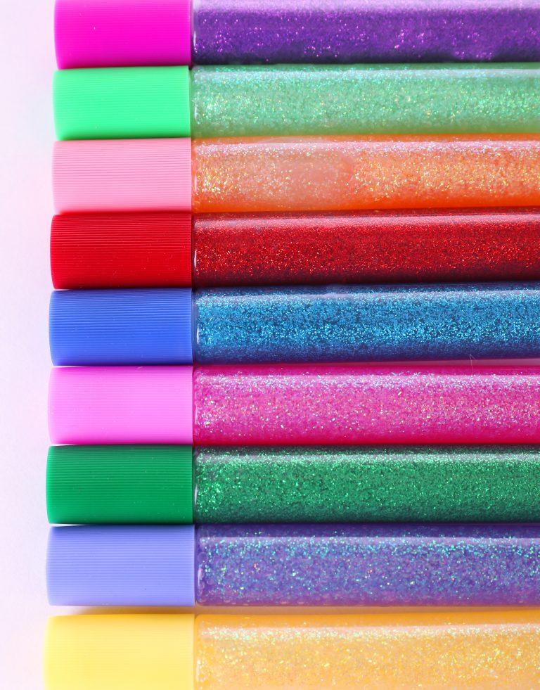 Glitter Bombs & Gum