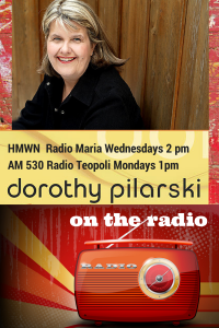 Click on this poster to reach the archive link to the radio program at Radio Maria. In the archives it is called Working for the Lord in Different Ways!