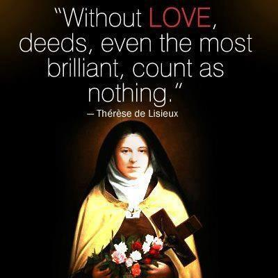 St. Therese & a New Year's Resolution