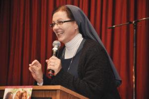 Sister Helena Burns FSP, Dynamic Women of Faith Conference 2018